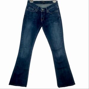 """Levi's """"too super low"""" 524 flare jeans"""